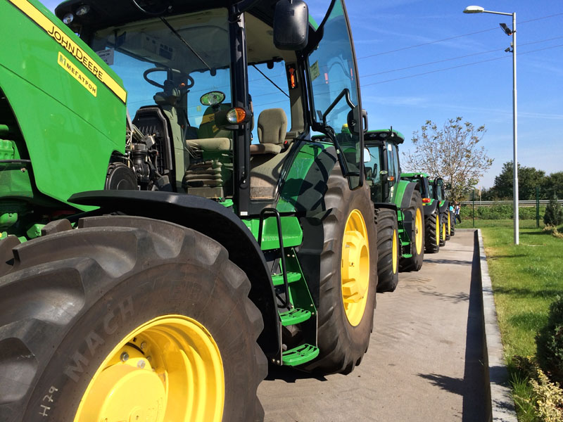 Open door day at  Megatron   John Deere